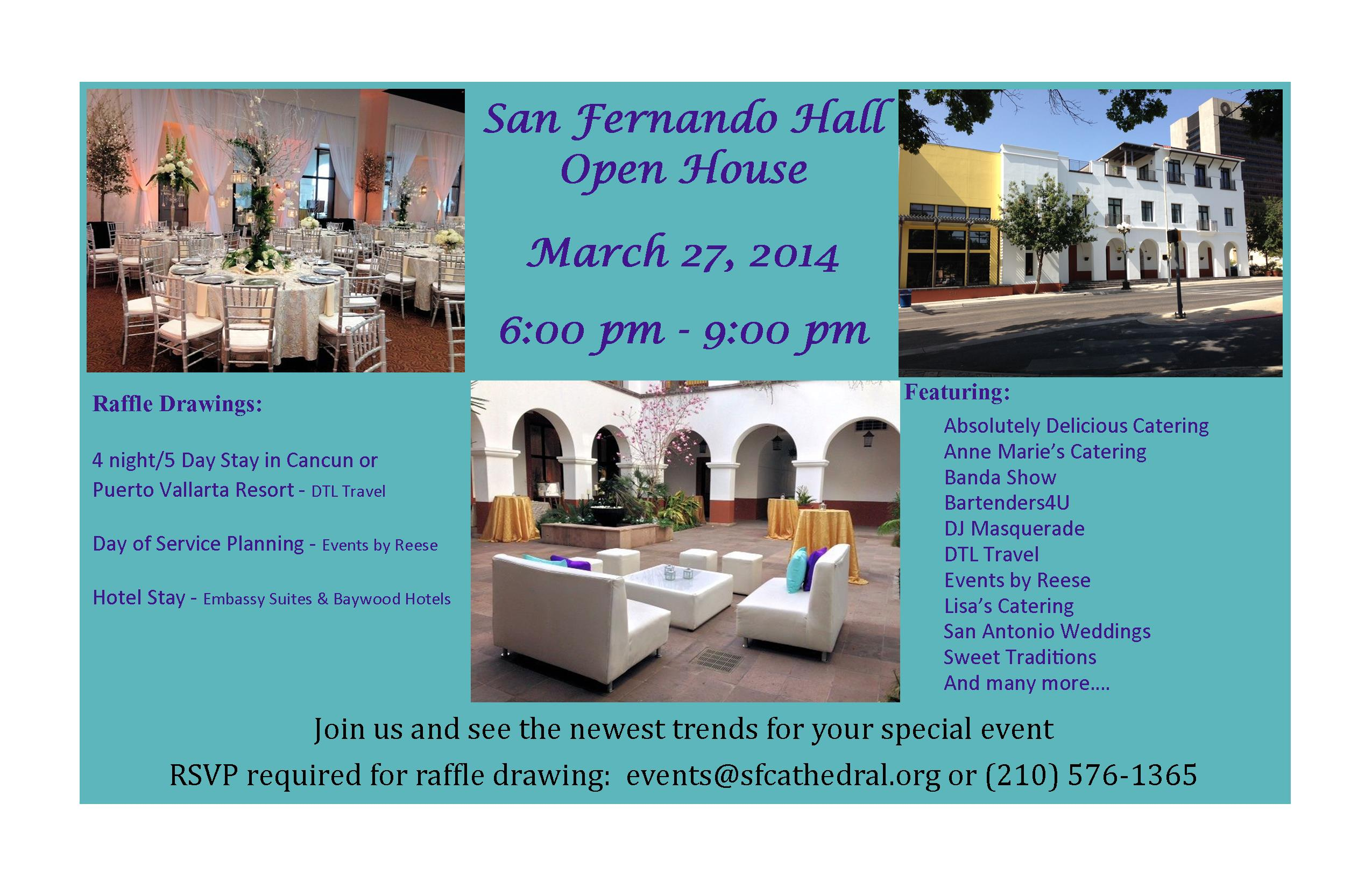 San Fernando Hall Open House… | Reese Events Group